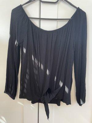 Miss Selfridge Top à manches longues noir