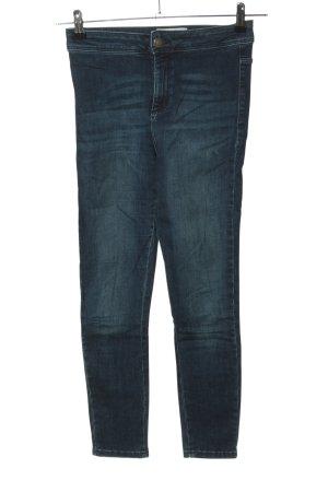 Miss Selfridge Skinny Jeans blau Casual-Look