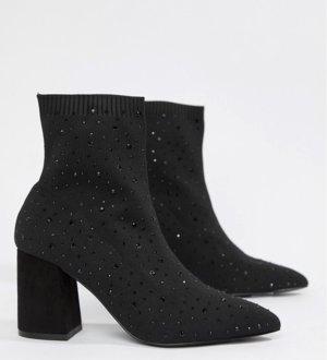 Miss Selfridge Sock Boots Ankle Boots High Heels Pumps Stiefeletten