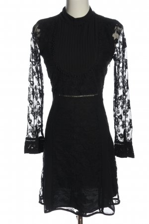 Miss Selfridge Robe en dentelle noir élégant