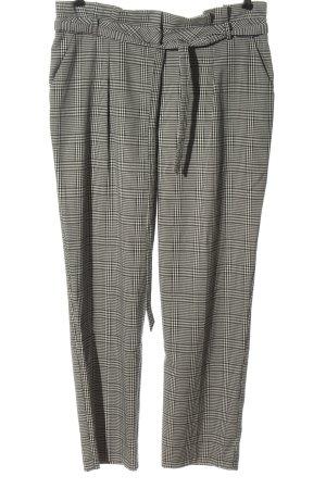 Miss Selfridge Pantalon en jersey noir-blanc imprimé allover style d'affaires