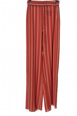 Miss Selfridge Stoffhose rot-weiß Streifenmuster Casual-Look