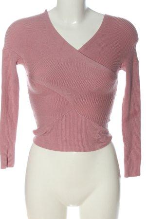 Miss Selfridge T-shirts en mailles tricotées rose style décontracté