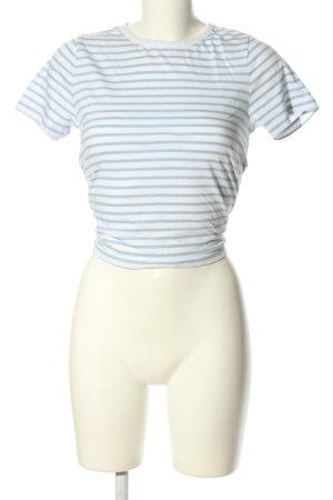 Miss Selfridge T-Shirt weiß-blau Allover-Druck Casual-Look