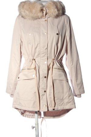 Miss Selfridge Płaszcz zimowy kremowy W stylu casual