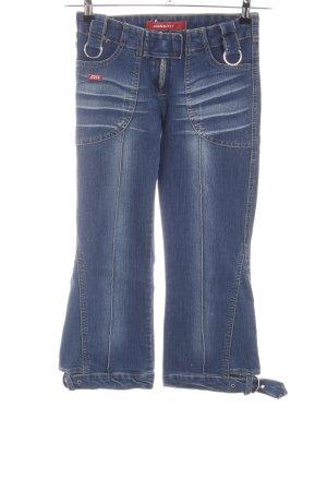 Miss Sixty 3/4 Jeans blau Casual-Look