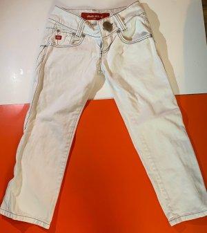 Miss Sixty Jeans a 3/4 bianco