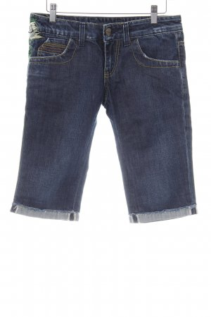 Miss Sixty 3/4 Jeans dunkelblau Casual-Look