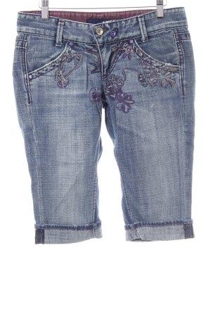 Miss Sixty 3/4 Jeans stahlblau Casual-Look
