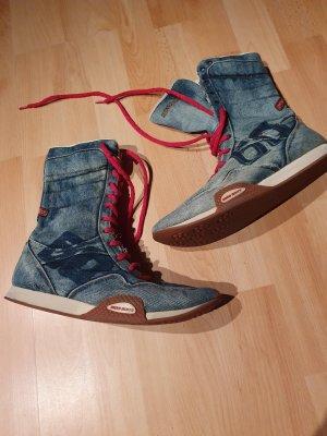 Miss Sixty Sneakers met veters korenblauw