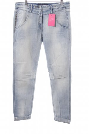Miss Sixty 7/8 Jeans blau-creme Casual-Look