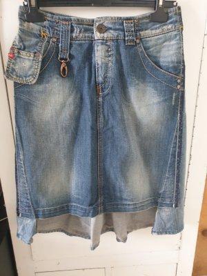 Miss Sixty Jupe en jeans bleu azur