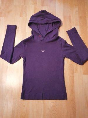 Miss Sixty Hooded Shirt dark violet