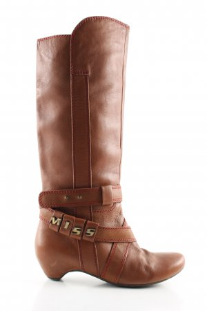 Miss Sixty Heel Boots brown casual look