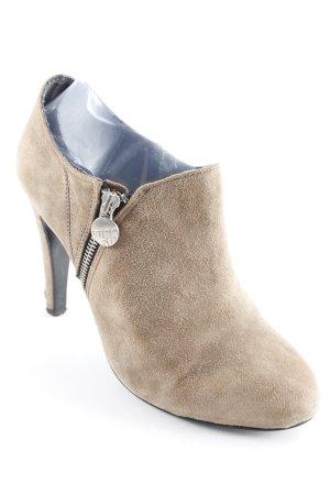 Miss Sixty Ankle Boots ocker-silberfarben Casual-Look