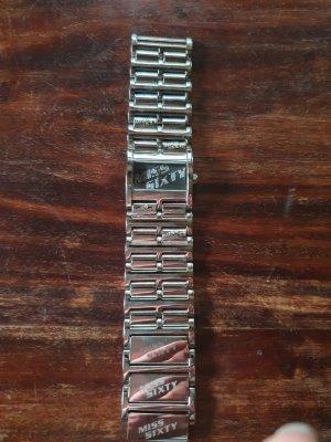 Miss Sixty Montre avec bracelet métallique argenté métal