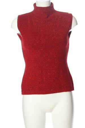 Miss Sixty Basic Top rot meliert Elegant