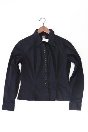 Miss Sixty Bluse mit Steinchen schwarz Größe L