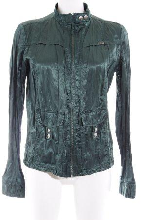 Miss Sixty Blusenjacke waldgrün extravaganter Stil