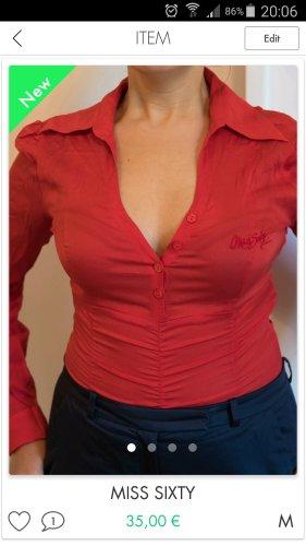 Miss Sixty Blusa tipo body rojo