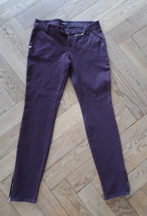 Miss Sixty bordeauxrote skinny Jeans Gr. 30 (38/40)
