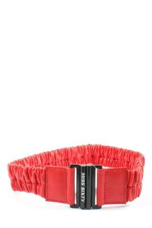 Miss Sixty Pasek materiałowy czerwony W stylu casual