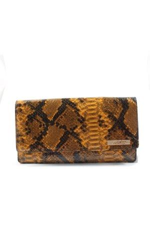 Miss Sixty Clutch licht Oranje-bruin volledige print extravagante stijl
