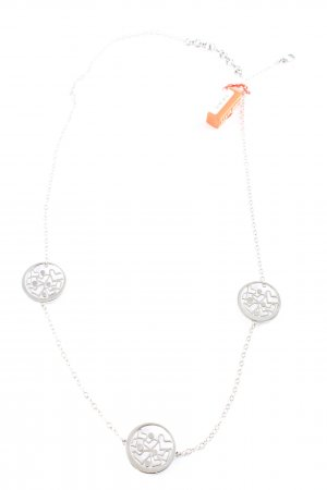 Miss Sixty Collier argento stile casual