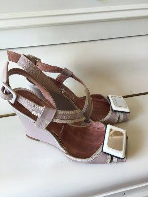 Miss Sixty Dianette sandalen mauve-stoffig roze Leer