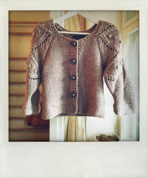 Miss Sixty Knitted Bolero rose-gold-coloured-beige