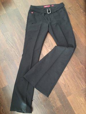 Miss Sixty Pantalone a zampa d'elefante nero