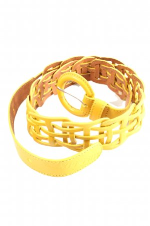Miss Sixty Cintura intrecciata giallo pallido stile casual