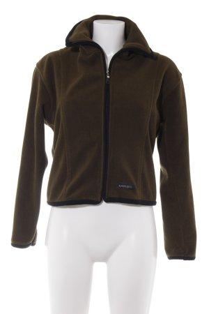 Miss Sixty Fleece Jackets black-olive green casual look