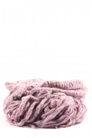 Miss Sixty Fringed Scarf lilac casual look