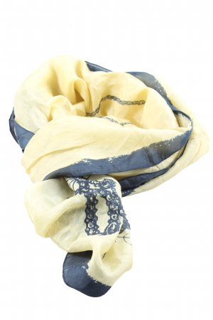 Miss Sixty Neckerchief primrose-blue abstract pattern casual look