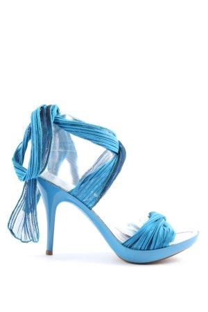 Miss Sixty High Heel Sandaletten blau Party-Look