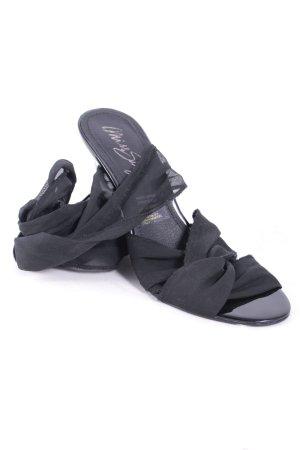 Miss Sixty High Heel Sandaletten schwarz klassischer Stil