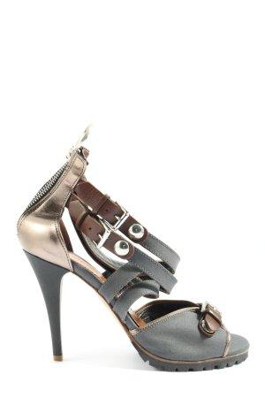 Miss Sixty High Heel Sandaletten mehrfarbig Elegant