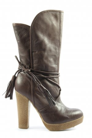 Miss Sixty High Heel Boots brown elegant