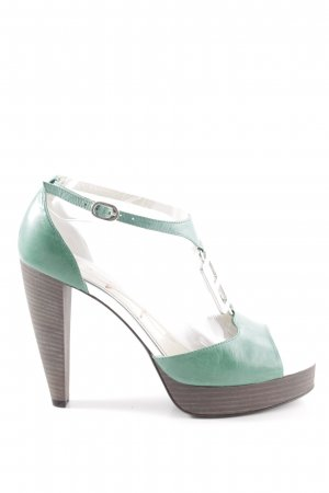 Miss Sixty High Heels grün-braun Elegant