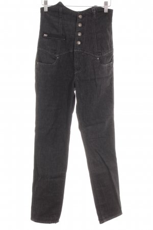 Miss Sixty Hoge taille jeans donkergrijs casual uitstraling