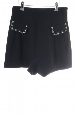 Miss Sixty High-Waist-Shorts schwarz Casual-Look