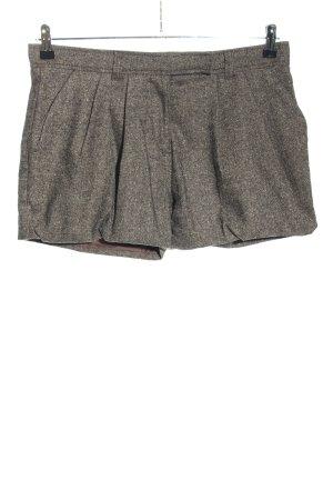 Miss Sixty Hot Pants hellgrau meliert Casual-Look