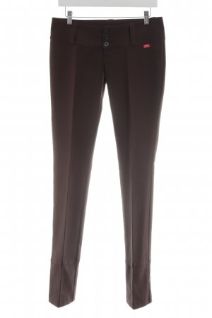 Miss Sixty Low-Rise Trousers brown business style