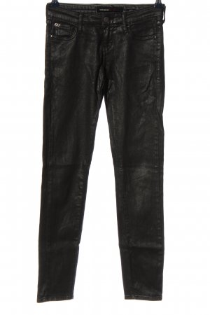 Miss Sixty Low-Rise Trousers black casual look