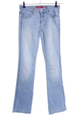 Miss Sixty Hüftjeans blau Casual-Look