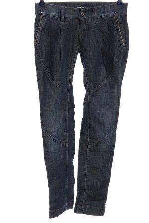 Miss Sixty Jeans taille basse bleu style décontracté