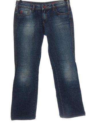 Miss Sixty Jeansy biodrówki niebieski W stylu casual