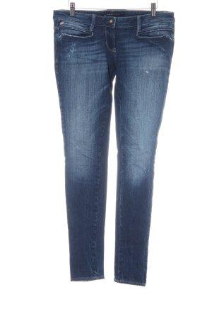 Miss Sixty Hüftjeans dunkelblau-weiß Farbverlauf Casual-Look
