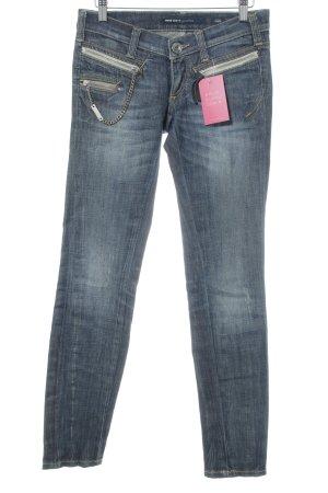 Miss Sixty Jeans taille basse bleu acier Aspect de jeans